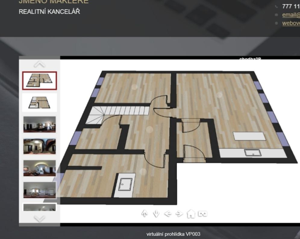 3 D  virtuální  prohlídky  -   prezentace  pro  každého