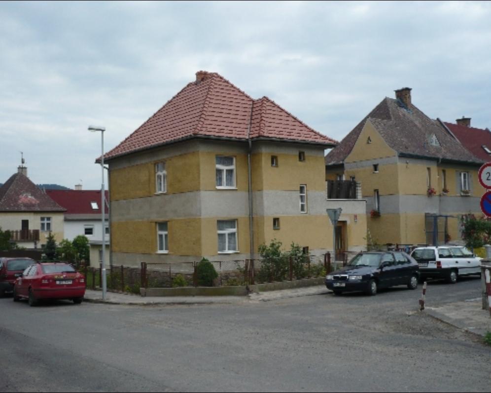 Rodinný dům v ulici Osadní v Děčíně.