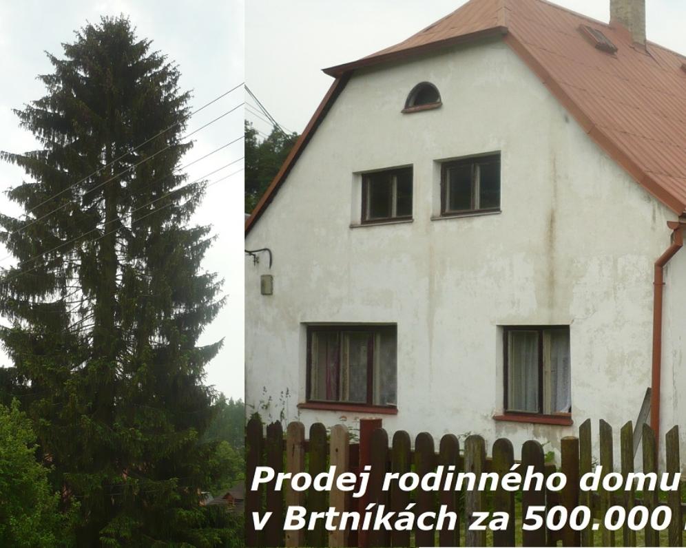 Rodinný dům - chalupa, Brtníky, Šluknovský vývěžek